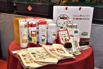 中华邮政xHELLO KITTY推联名商品「邮蒂幸福」到你家