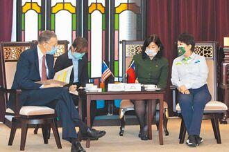 盧會酈英傑 拒萊豬 盧秀燕表明拒萊劑 遭AIT反擊散播不實資訊