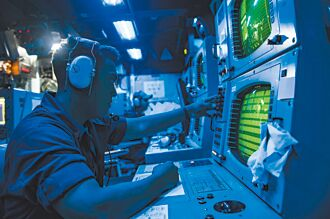 潛艦國造關鍵聲納 美許可輸出