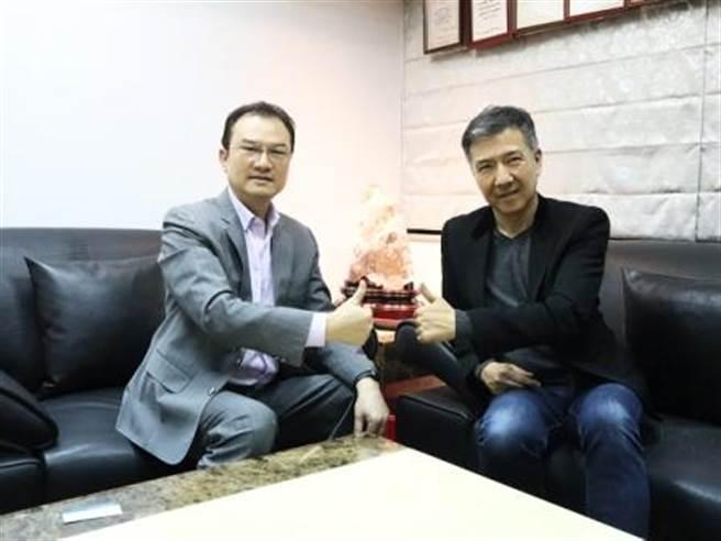 理財周刊發行人洪寶山(左)、徐克宇(右)。(圖/理財周刊提供)