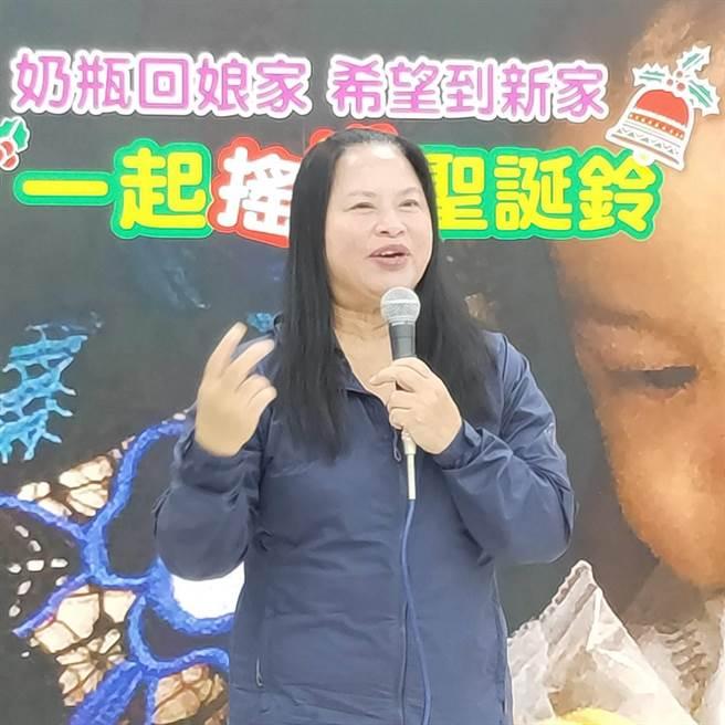 關愛之家創辦人楊婕妤女士,33年來為愛滋病患與移工寶寶,奉獻心力。(主辦單位提供)