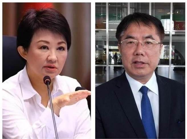 台中市長盧秀燕(左)、台南市長黃偉哲(右)。(圖/合成圖,本報資料照)
