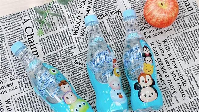 氣泡水包裝結合迪士尼TSUM TSUM圖案,全新包裝讓人愛不釋手!(圖/品牌提供)