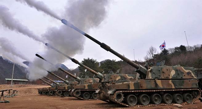 韓華k9自走砲,在這幾年相當暢銷。(圖//Hanwha)