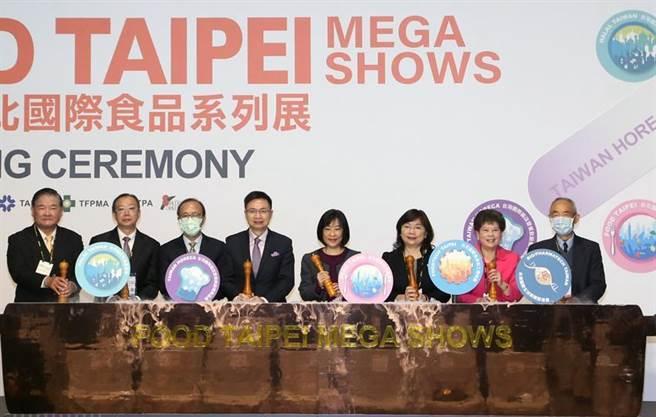 台北国际食品展六合一开展,展现最强「食」力。图/贸协提供