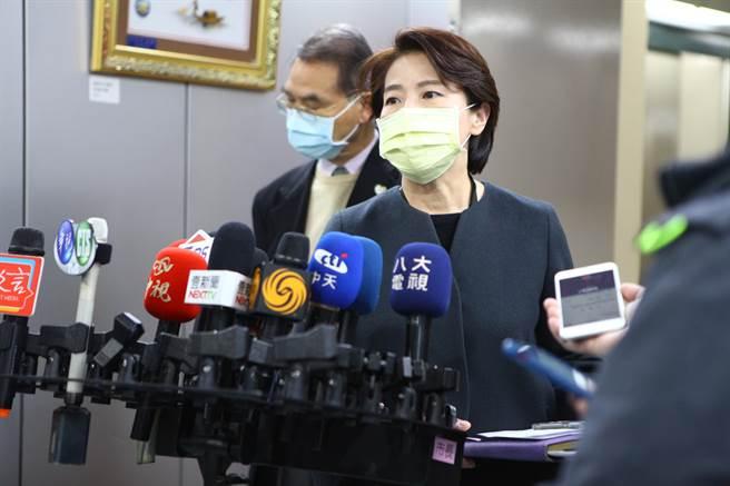 台北市副市長黃珊珊。(張立勳攝)