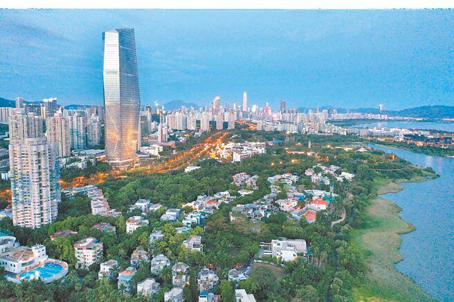 廣東深圳華僑城片區美景。(中新社資料照片)