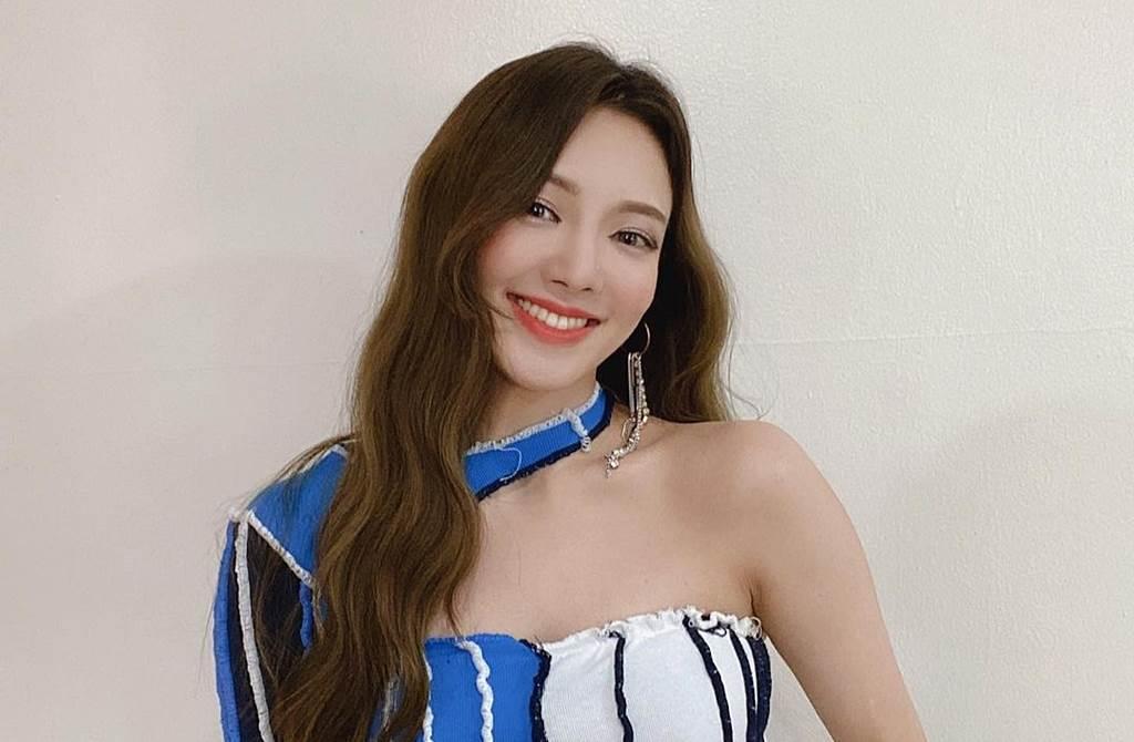 少女時代孝淵今年將現身台南跨年晚會。(圖/翻攝自hyoyeon_x_x IG)