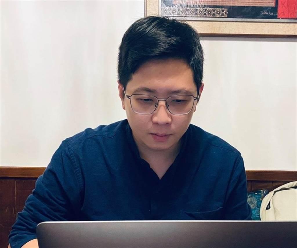 桃园市议员王浩宇。(图/翻摄自 王浩宇脸书)