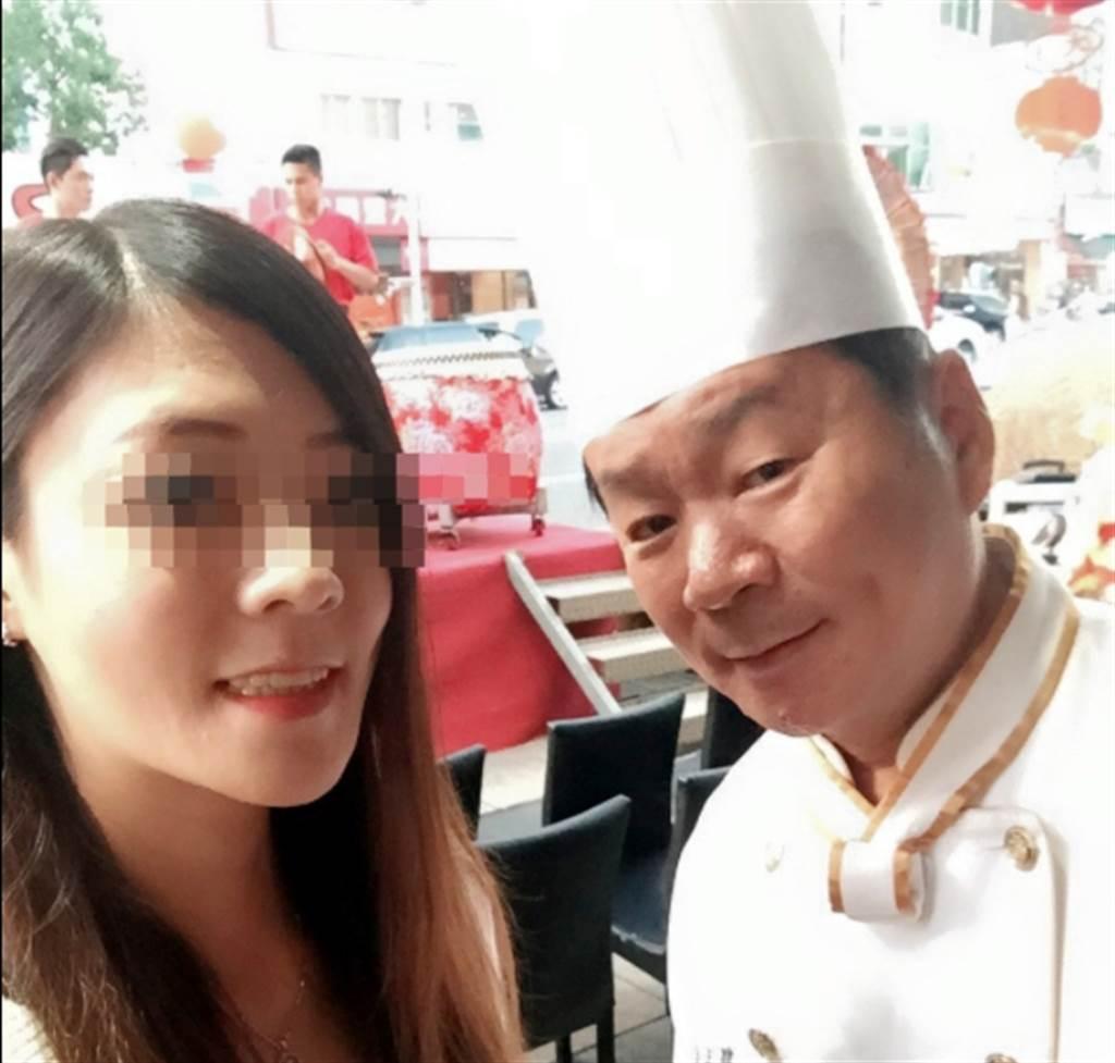 主廚郭主義經常PO出與女兒的合照。(翻攝 郭主義臉書)