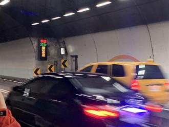 別當路隊長 雪隧將偵測龜速車提醒加速