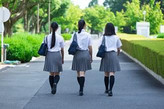 噁男掏「哪話兒」女高校門前雙手猛搓 女學生驚叫報警