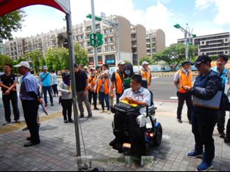 市區道路養護管理暨人行環境無障礙考評 六都以外宜蘭最優