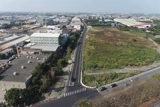 斗六工業區聯外道路尾端終拓寬  從水庫路進入工業區嘛會通