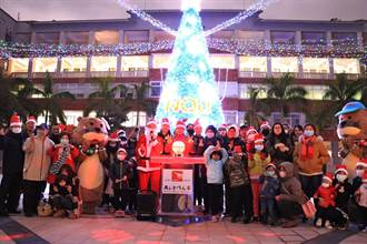 金門大學聖誕樹亮起來 為寒冬帶來溫暖和歡樂