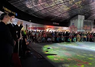 高雄捷運開啟「鳳翼天翔」大型藝術光影秀