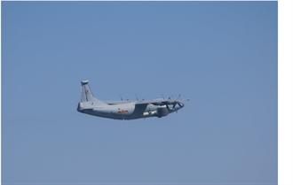 共軍運8遠干機反潛機 再擾台灣西南ADIZ