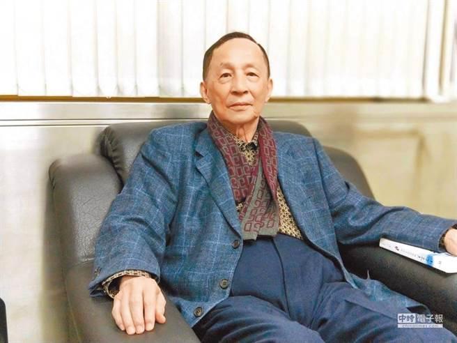 21世紀基金會董事長高育仁。(記者陳君碩攝)