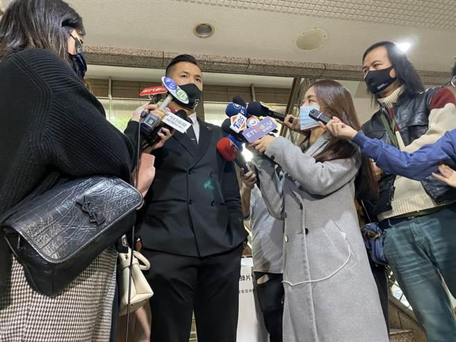 P+联盟执行长陈建州出面呼吁大眾别再散布或分享那些不雅影片。(黄及人摄)