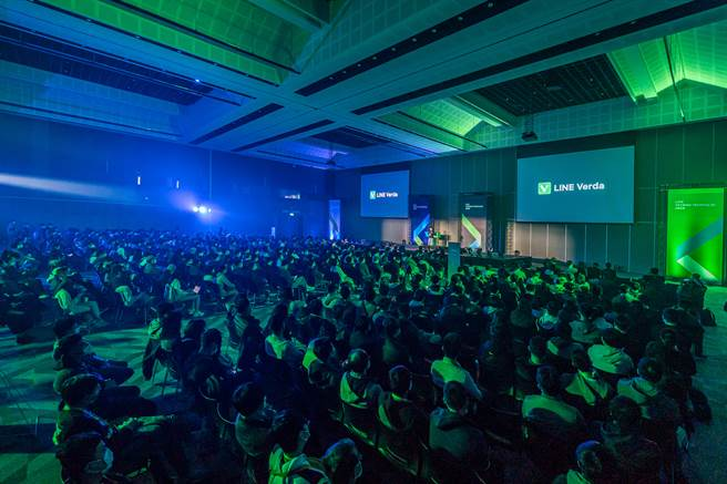 LINE 台湾今(18)日举行一年一度的 LINE 台湾开发者大会「LINE TAIWAN TECHPULSE 2020」。(LINE提供/黄慧雯台北传真)