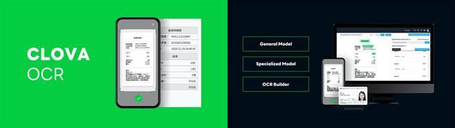 CLOVA OCR精準度高 客製彈性大 現正式開放在台商用。(LINE提供/黃慧雯台北傳真)