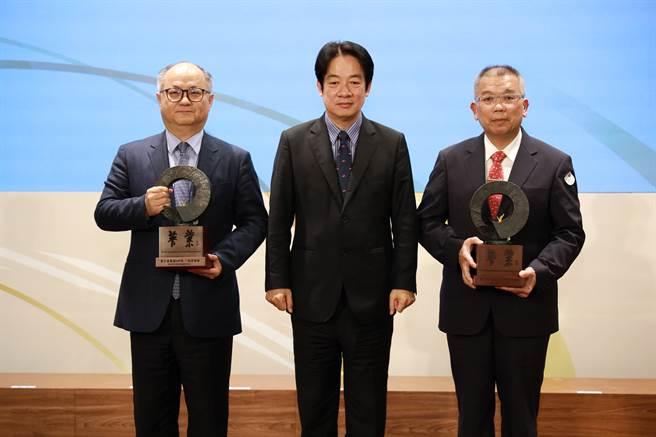 金融研訓院舉辦第10屆菁業獎頒獎典禮和40年院慶,副總統頼清德蒞臨現場。(金研院提供)