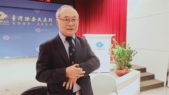 丽臺董事长卢崑山看好明年营运前景。(任佩云摄)
