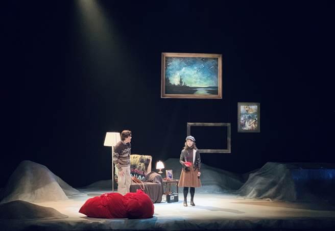 國立台北藝術大學戲劇系冬季公演《Almost, Maine》。(Campus編輯室攝)