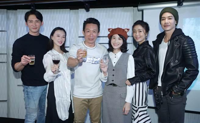 公视《茶金》日前举办杀青酒。(公视提供)
