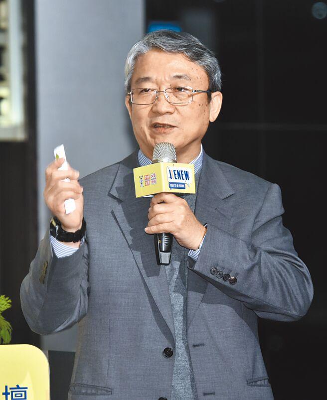 工商時報17日舉辦「2021服務創新趨勢論壇」,全聯實業副董事長謝健南出席。圖/顏謙隆