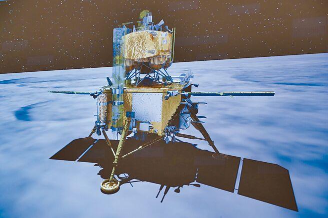嫦娥五號探測器本月2日在月球成功著陸。(新華社)