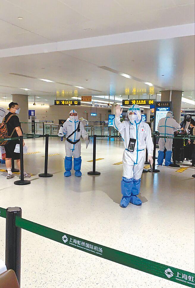 疫情时代下进出机场很困难。(作者提供)
