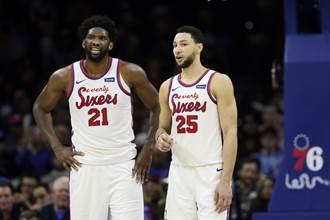 NBA》否認班西蒙斯換哈登 莫瑞:他是我們未來