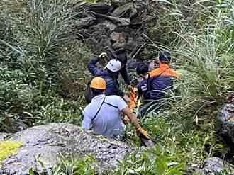 南橫重開放首例 天池段1婦人摔落30米深谷身亡