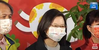 遭掀2009年上街反美牛 蔡英文出席花卉活動不回應媒體