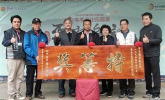 尖石五峰雲裳烏龍茶推廣特等茶 競標價1斤20萬元