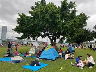助燒燙傷兒童復健 3000人齊聚公益野餐