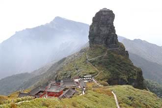 最危險寺廟懸立2千公尺高山 四面懸崖信徒腳一滑秒喪命