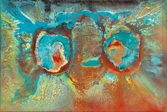 陳道明抽象畫 抒發意識流