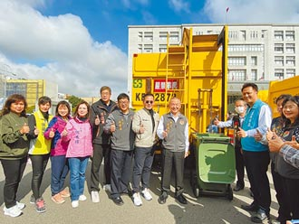 苗市喜獲全國首輛廚餘回收車