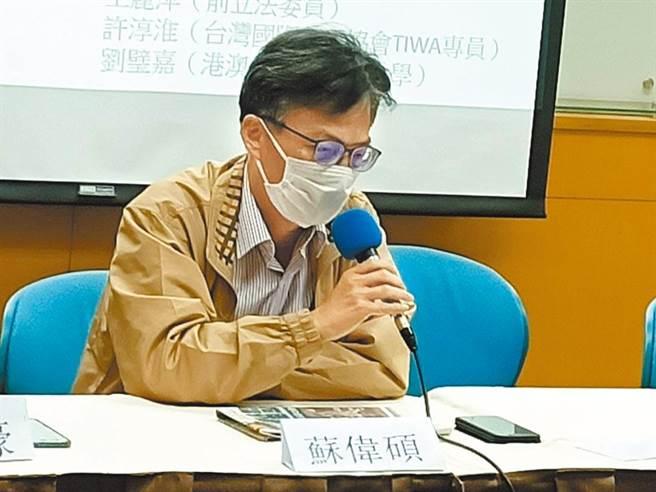 醫師蘇偉碩。(圖/本報資料照,簡立欣攝)