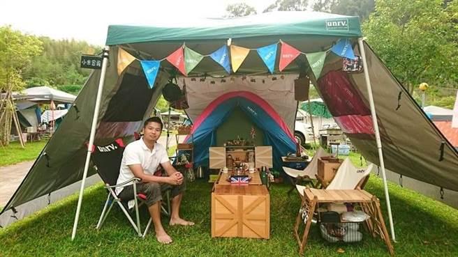喜愛露營的民眾可抽空至石門水庫,體驗露營嘉年華及新型態運動。(桃園市政府觀旅局提供/黃婉婷桃園傳真)