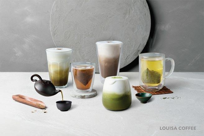 ˙路易莎京都宇治茶品系列熱賣,即日起至2021年1月4日民眾可以「暖心價」享受優惠。圖/路易莎咖啡提供