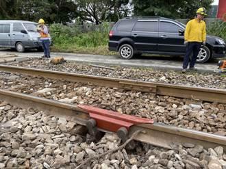 台鐵南澳站鋼軌斷裂 先魚尾鈑固定夜間再銲接