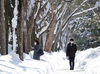 冷氣團籠罩 北海道出現零下25.7度本季最低溫