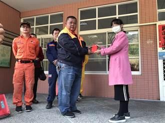 13個民間搜救隊協尋中橫失蹤邱男 家屬赴谷關致贈紅包