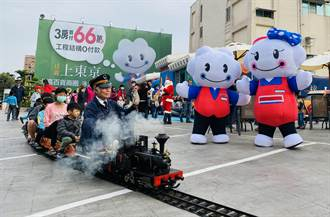 全台唯一蒸汽小火車 耶誕趴驚喜現身