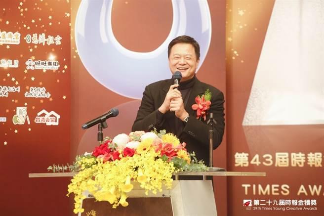 旺旺集團副董事長周錫瑋。(圖/時報獎執委會提供)