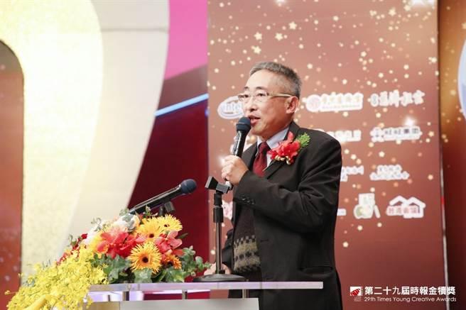中國時報發行人王丰。(圖/時報獎執委會提供)