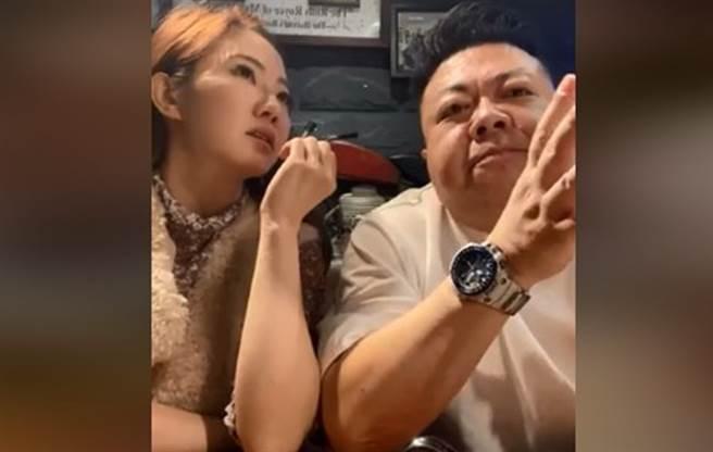 董至成埋怨當時摔倒時,謝忻只顧著錄下他的糗樣。(圖/FB@謝忻)
